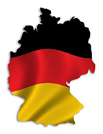Silhouette of Germany