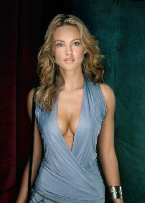 чешская модель Eva Herzigova для рекламы Синквенон