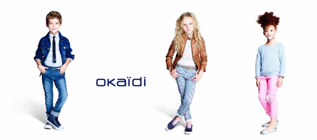 дочерний детский бренд Okaidi