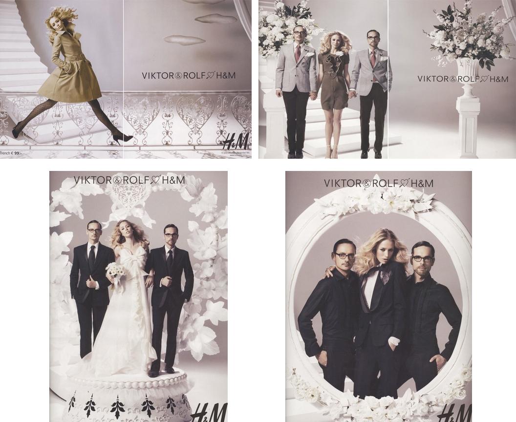 коллекция Viktor & Rolf для H&M h m hennes
