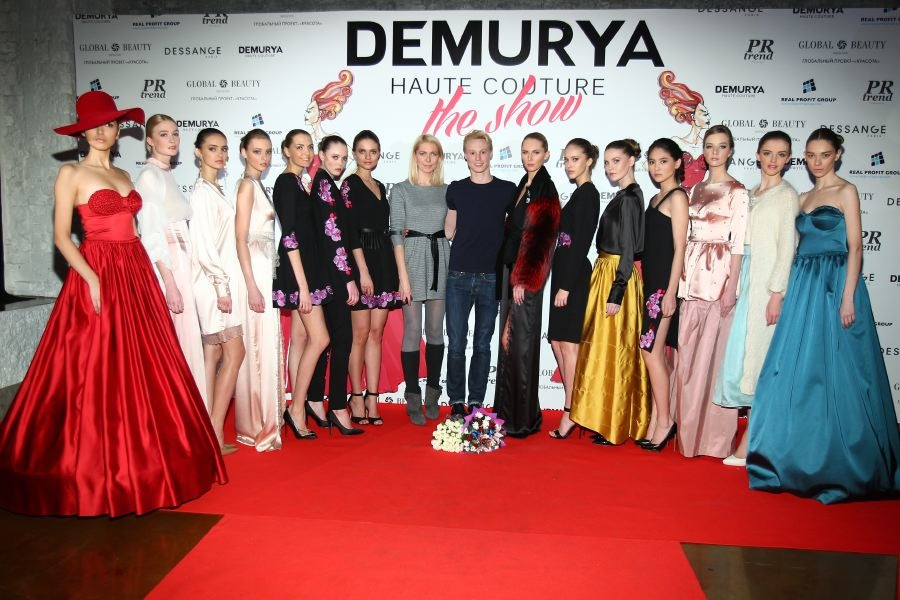 фото с показа Demurya Haute Couture