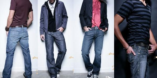 лук с джинсам мужские