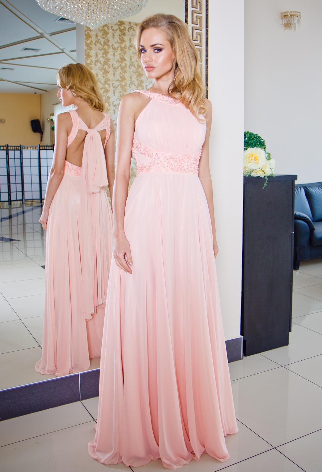 платье макси польского производителя pretty women